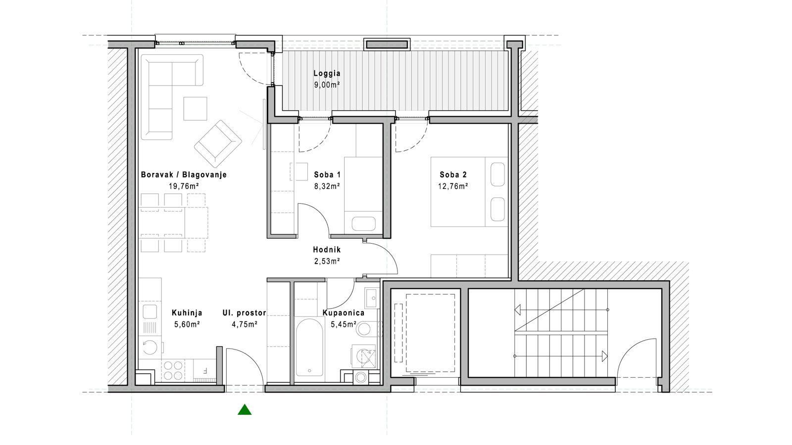 stan A.1.1 - Projekt Lanište