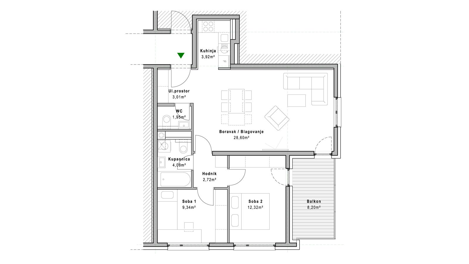 stan B.1.5 - Projekt Lanište
