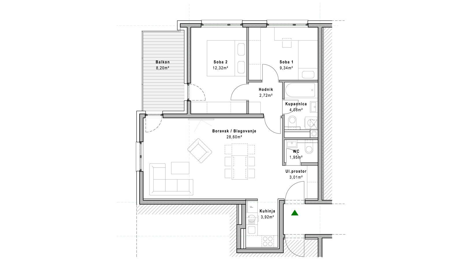 stan A.1.2 - Projekt Lanište