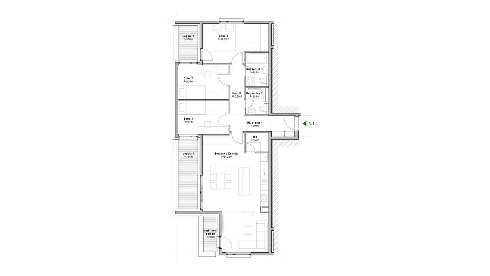 stan A.1.1 - Projekt Jaruščica