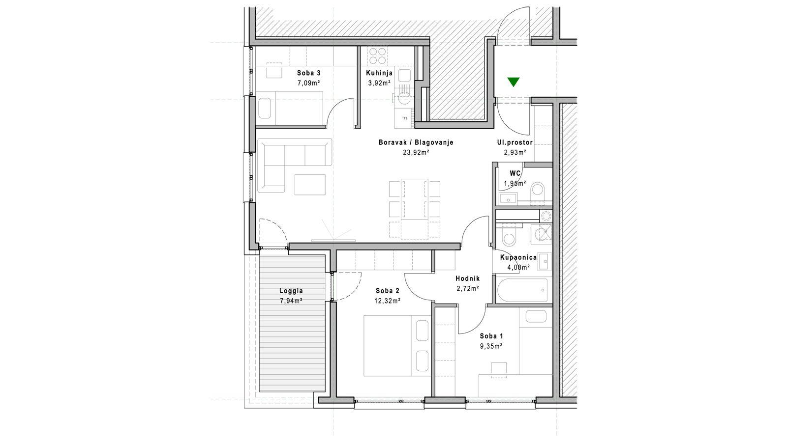 stan A.3.3 - Projekt Lanište