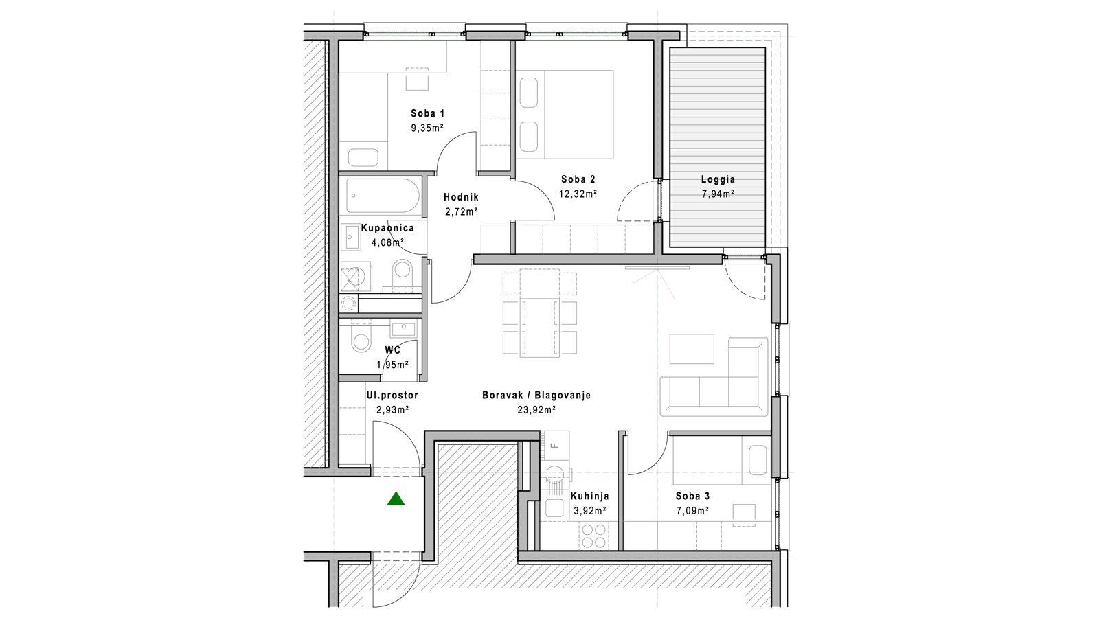 stan B.3.6 - Projekt Lanište