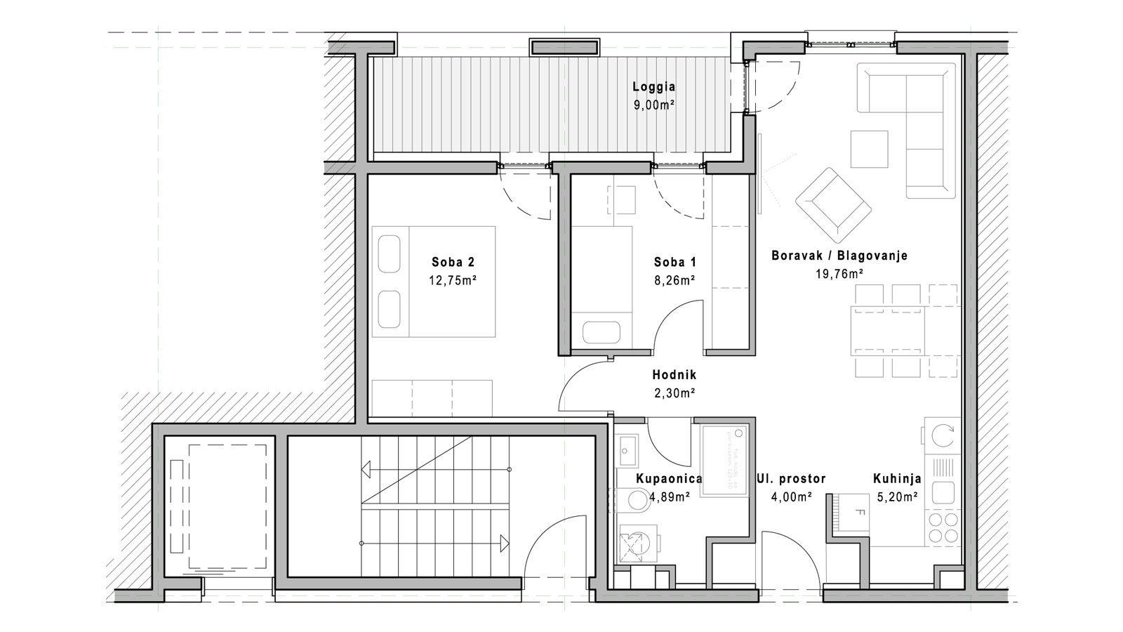 stan A.4.7 - Projekt Lanište