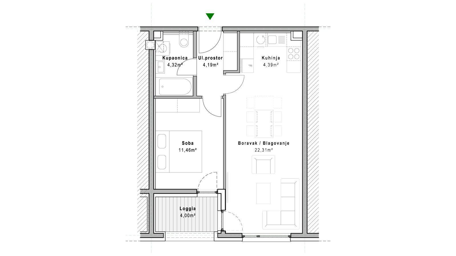 stan A.5.5 - Projekt Lanište