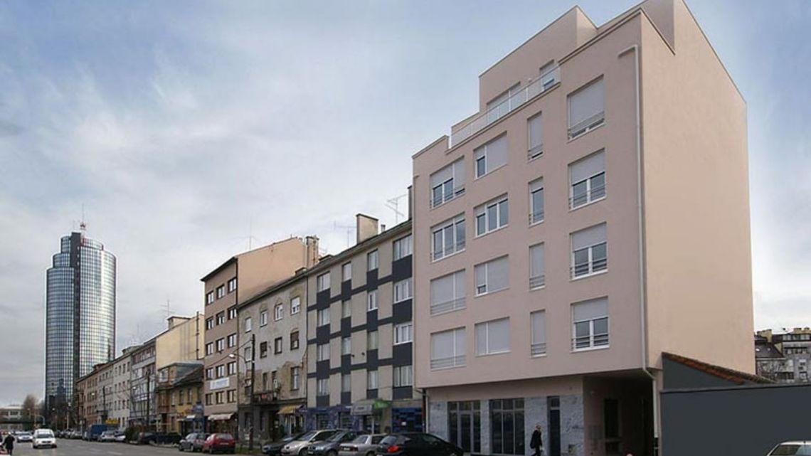 Kranjčevićeva ulica, Trešnjevka