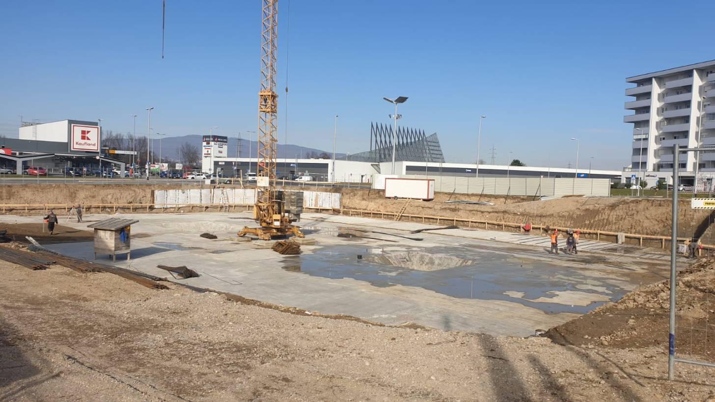 Stanje na gradilištu